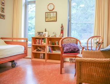 Zimmer eines Bewohners